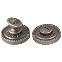 Ручка поворотная Armadillo (Армадилло) WC-BOLT BK6/CL-AS-9 Античное серебро