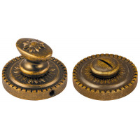 Ручка поворотная Armadillo (Армадилло) WC-BOLT BK6/CL-OB-13 Античная бронза