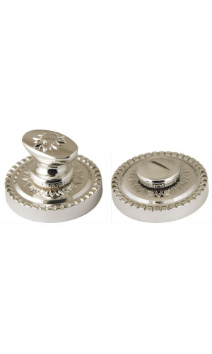 Ручка поворотная Armadillo (Армадилло) WC-BOLT BK6/CL-SILVER-925 Серебро 925
