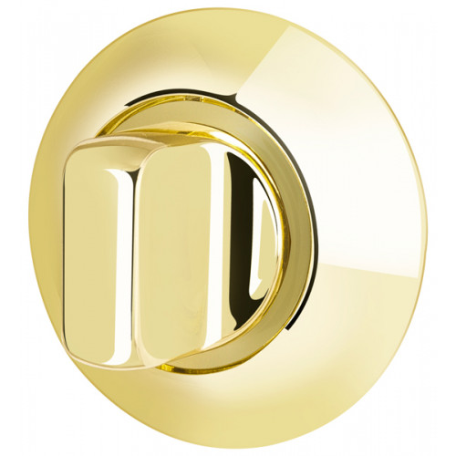 Ручка поворотная Armadillo (Армадилло) WC-BOLT BK6-1GP/SG-5 золото/матовое золото