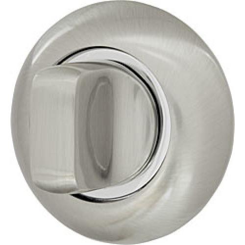 Ручка поворотная Armadillo (Армадилло) WC-BOLT BK6-1SN/CP-3 матовый никель/хром