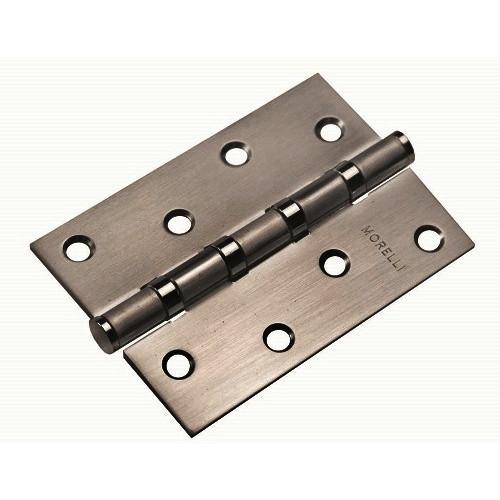 Петля стальная универсальная MS 100X70X2.5-4BB BN черный никель 1шт