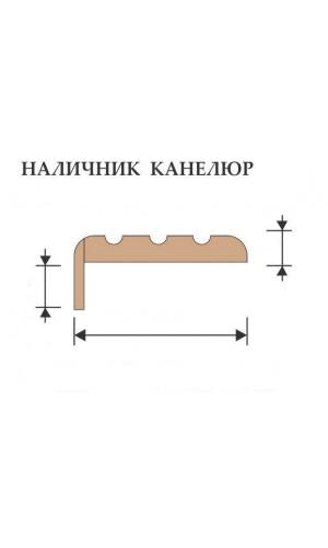 Наличник Vist канелюр (тон 2, тон 19) 90мм