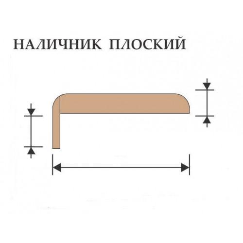 Наличник luxor телескоп для дверей шпон прямой