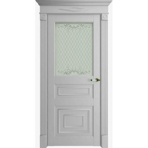 Дверь экошпон Uniline Florence Stile 62001 (ПДО) Серена светло-серый