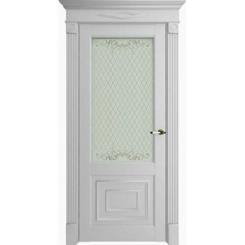 Дверь экошпон Uniline Florence Stile 62002 (ПДО) Серена светло-серый