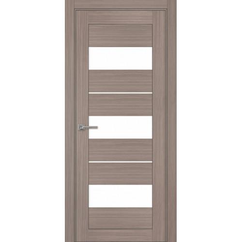 Дверь межкомнатная Модель 04 Эко Серый Остекленная
