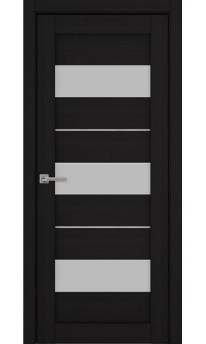 Дверь межкомнатная Модель 04 Эко Венге Остекленная