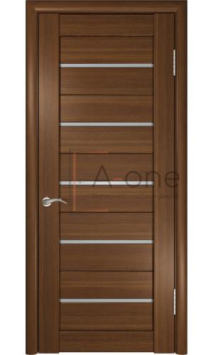 Дверь экошпон межкомнатная со стеклом ЛУ 22