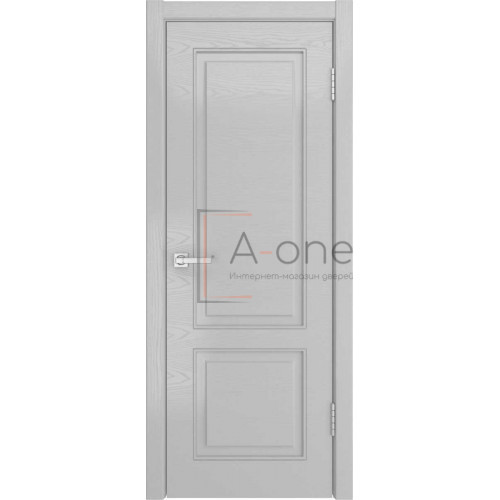 Ульяновская межкомнатная дверь НЕО-1 шпон ясень манхеттен, глухая