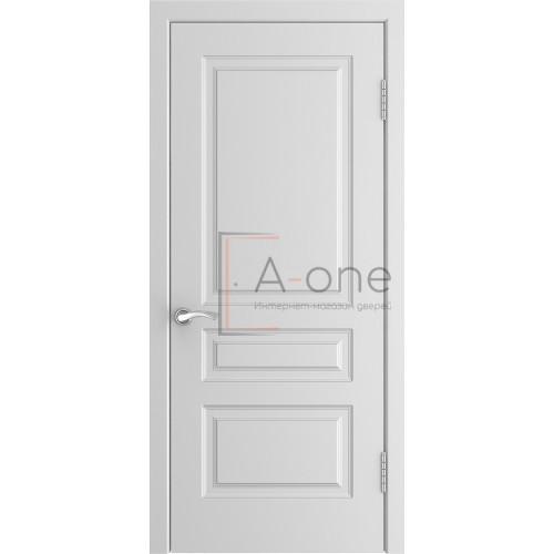 Ульяновская дверь эмаль L-2 белая глухая