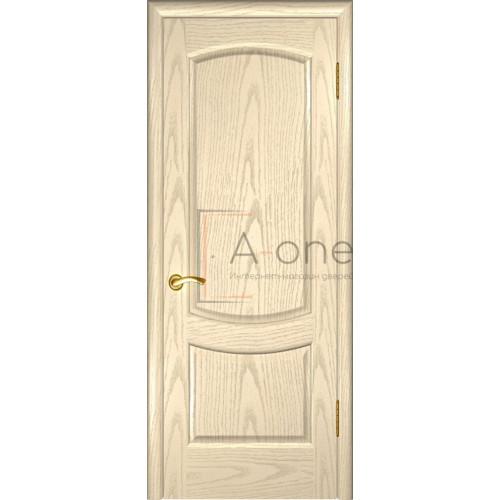 Межкомнатная дверь Лаура 2 Слоновая кость, глухая