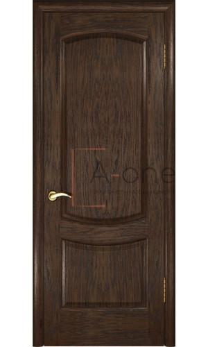 Межкомнатная дверь Лаура 2  Мореный дуб, глухая
