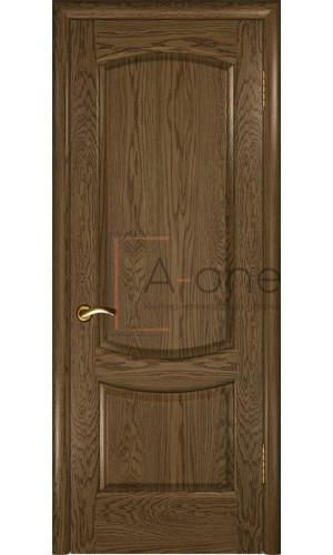 Межкомнатная дверь Лаура 2 Светлый мореный дуб, глухая