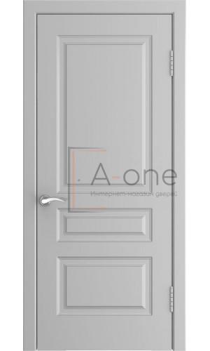 Ульяновская дверь серая эмаль L-2 глухая цвет манхеттен