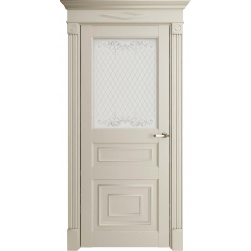 Дверь экошпон Uniline Florence Stile 62001 (ПДО) Серена керамик
