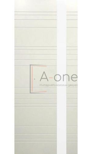 Дверь белая эмаль межкомнатная LP 14