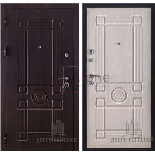 Входная дверь Легион Йошкар Ола внешняя МДФ Vinorit Almon 28 внутренняя МДФ Vinorit Alon 25