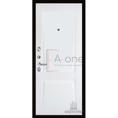 Панель для входной двери Перфекто 101 белый бархат
