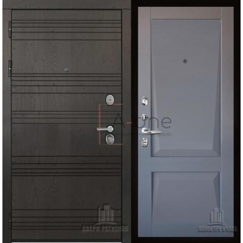 Министр входная дверь с панелью Перфекто Perfecto 101 серый бархат
