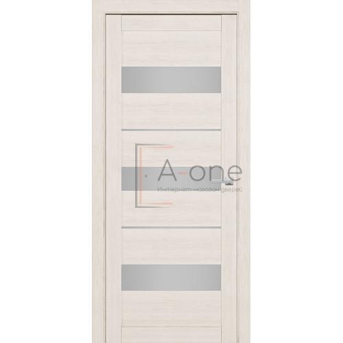 Дверь межкомнатная 226 Слоновая кость (Ral 9001) Остекленная на Заказ