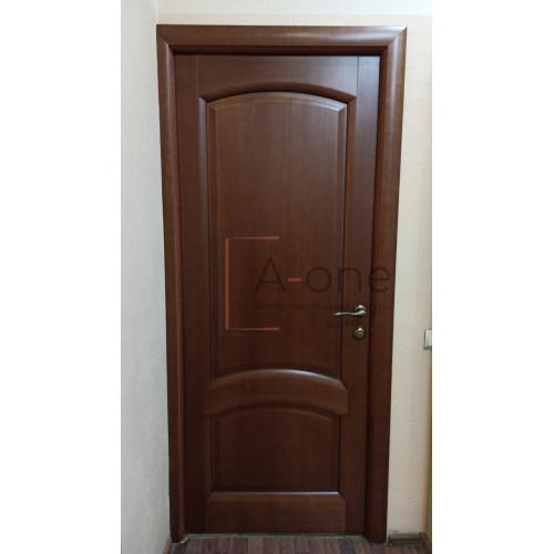 Ульяновские двери Regidoors Лаура натуральный шпон анегри темный тон 74 глухое
