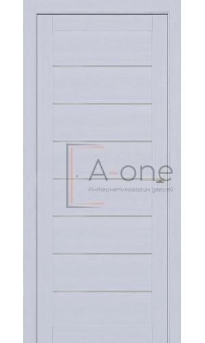 Дверь межкомнатная 225 Серый шелк (Ral 7047) Глухая