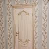 Ульяновские двери Regidoors Александрия — 2 эмаль слоновая кость с патиной золото