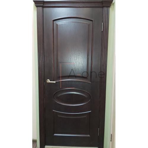 Ульяновские двери Regidoors Оливия шпон натуральный дуб тон 2 глухое