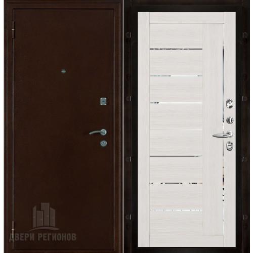 Феникс входная дверь с панелью экошпон Light 2110 капучино велюр