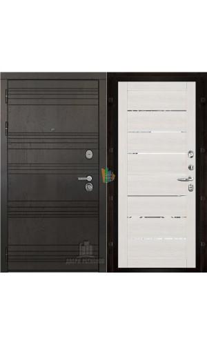 Министр входная дверь с панелью экошпон Light 2125 капучино велюр
