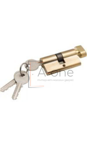 Ключ + фиксатор для межкомнатной двери