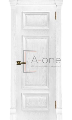 Мадрид шпон, Ульяновские двери, цвет перла, глухая