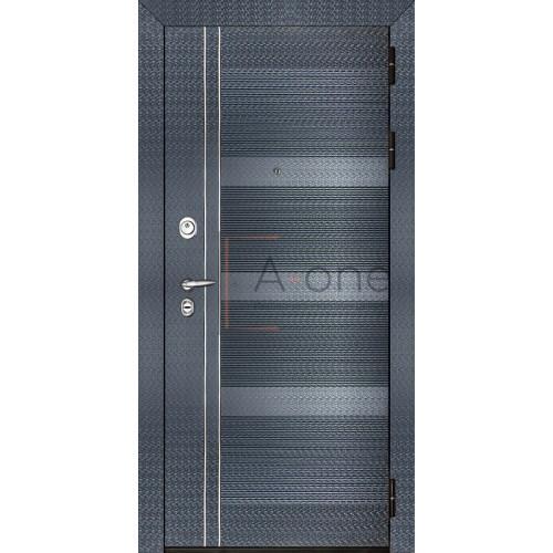 Входная дверь Карбон (+ внутренняя панель)