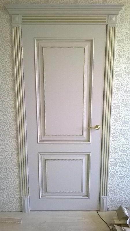 Белая межкомнатная дверь эмаль