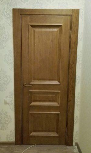 Ульяновская дверь Барселона цвет дуб антик