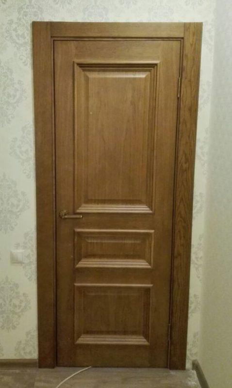 Ульяновская дверь Барселона дуб антик