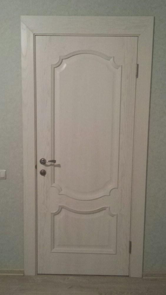 iУльяновская дверь Монако глухая ясень