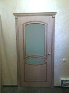 межкомнатная дверь Азалия дуб стекло
