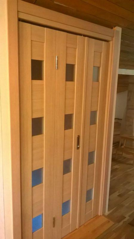 Межкомнатные складные двери в Зеленограде