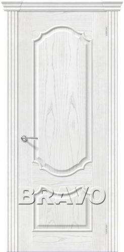 Дверь Париж жемчуг натуральный шпон