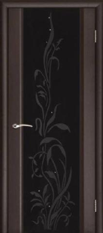 Эксклюзив 2 венге черное стекло