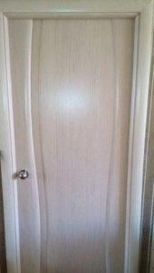 Дверь Диадема глухая беленый дуб