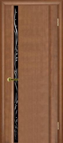 Эксклюзив 1 с узким черным стеклом анегри темный