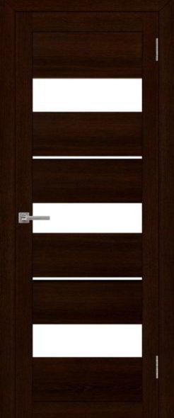 Дверь эко шпон 2126 дуб шоколадный