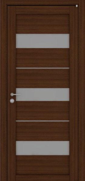 Дверь экошпон 2126 орех вельвет