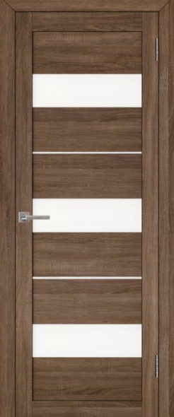 Дверь эко шпон 2126 серый велюр