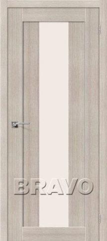 Дверь из эко шпона с вертикальным стеклом химки сходня зеленоград