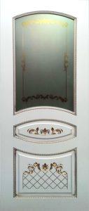Алина эмаль с золотом стекло