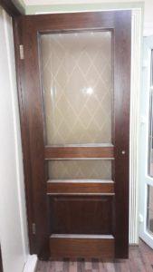 Ульяновская дверь Милан орех